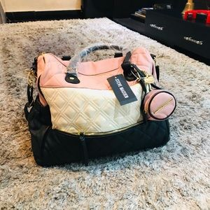 Steve Madden diaper bag